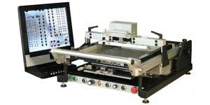 полуавтоматический трафаретный принтер mechatronic systems s40