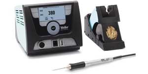 цифровая сенсорная одноканальная паяльная станция weller wx 1011