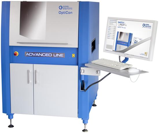 Высокоскоростные системы AOI OptiControl AdvancedLine