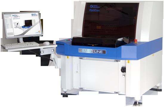 Системы автоматической инспекции качества пайки с ручной загрузкой печатных плат Goepel Opticon BasicLne