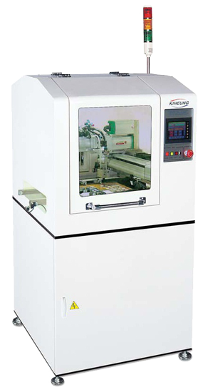 этикетировочная машина печатных плат kiheung серии klbm-1100