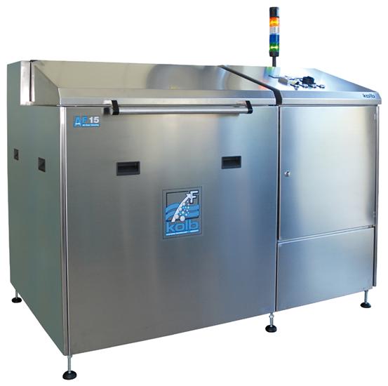 автоматическая система отмывки под давлением kolb серии af15 /af30