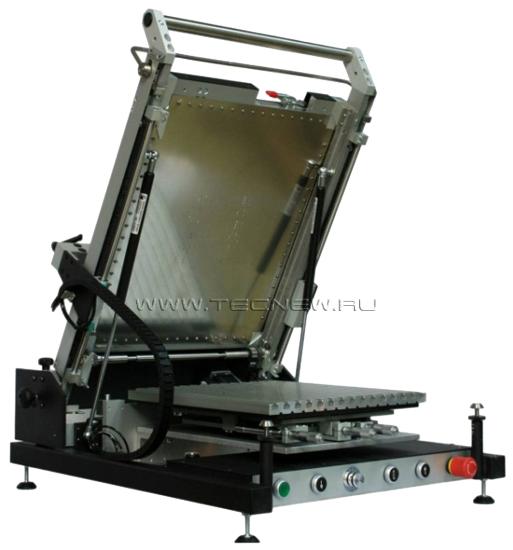 полуавтоматический трафаретный принтер mechatronic systems s90