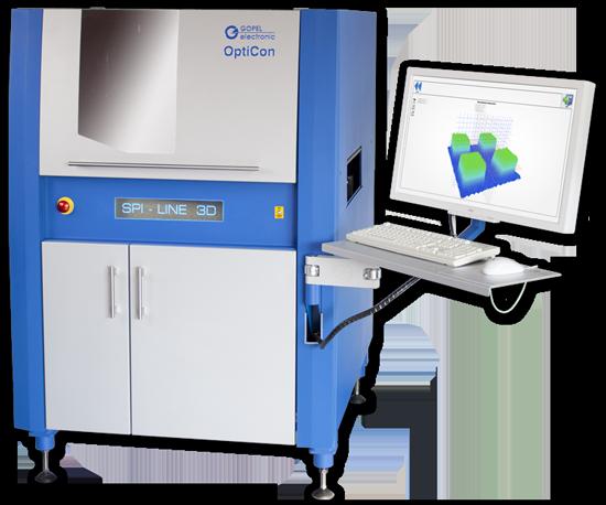 Система 3D контроля нанесения пасты OptiCon SPI 3D