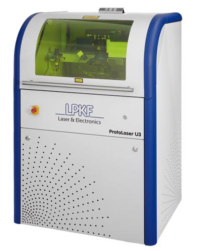 система лазерного структурирования плат lpkf protolaser u3