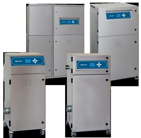 Цифровые дымоулавливающие системы Purex International Ltd.