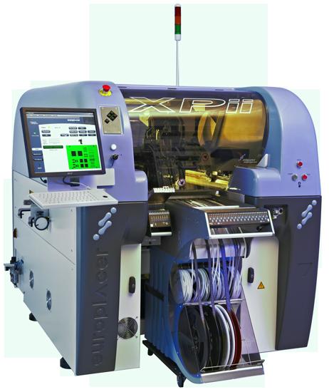 автоматический установщик компонентов поверхностного монтажа europlacer xpii-ii
